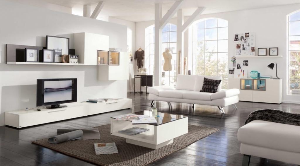 Moderne Deko Einfach On Modern In Wohnzimmer Regal 6