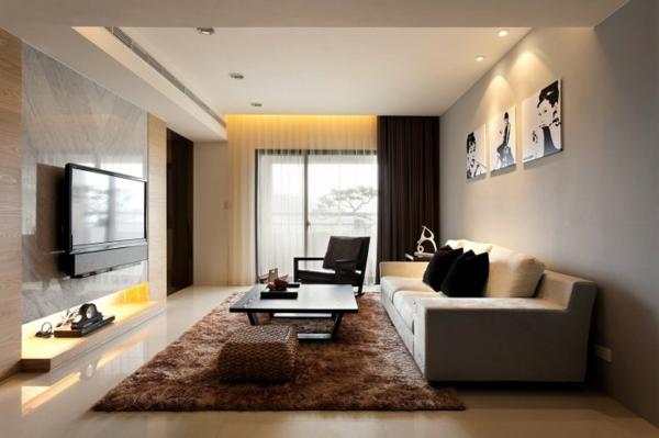 Moderne Deko Ideen Unglaublich On Modern Innerhalb Minimalistische Gemütliches Interieur 4