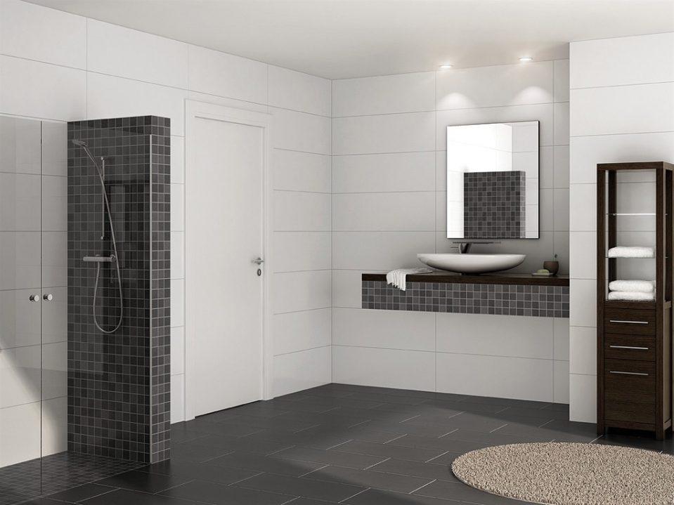 Moderne Duschen Mit Mosaik Exquisit On Modern Beabsichtigt Uncategorized Ehrfürchtiges Und 6