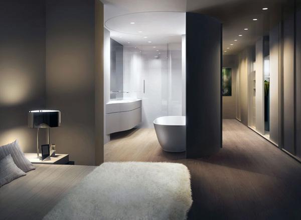 Moderne Einrichtung Schlafzimmer Mit Bad Interessant On Modern Beabsichtigt Neueste Badezimmer 2