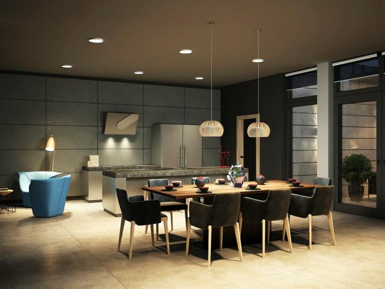 Moderne Esszimmer Bilder Herrlich On Modern In Bezug Auf Einrichtung 18 Inspirierende Designs 7