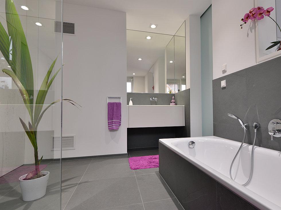 Moderne Fliesen Im Bad Erstaunlich On Modern In Ehrfürchtig Bilder Wohndesign 5