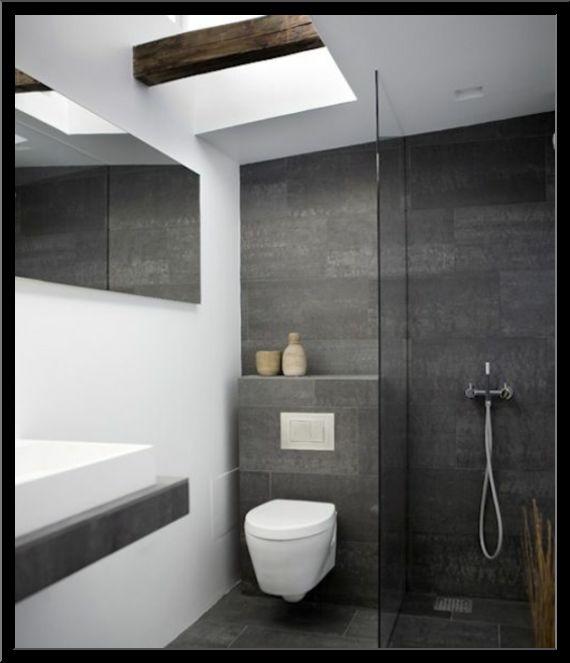 Moderne Fliesen Im Bad Nett On Modern Beabsichtigt Faszinierend Badezimmer Grau 4