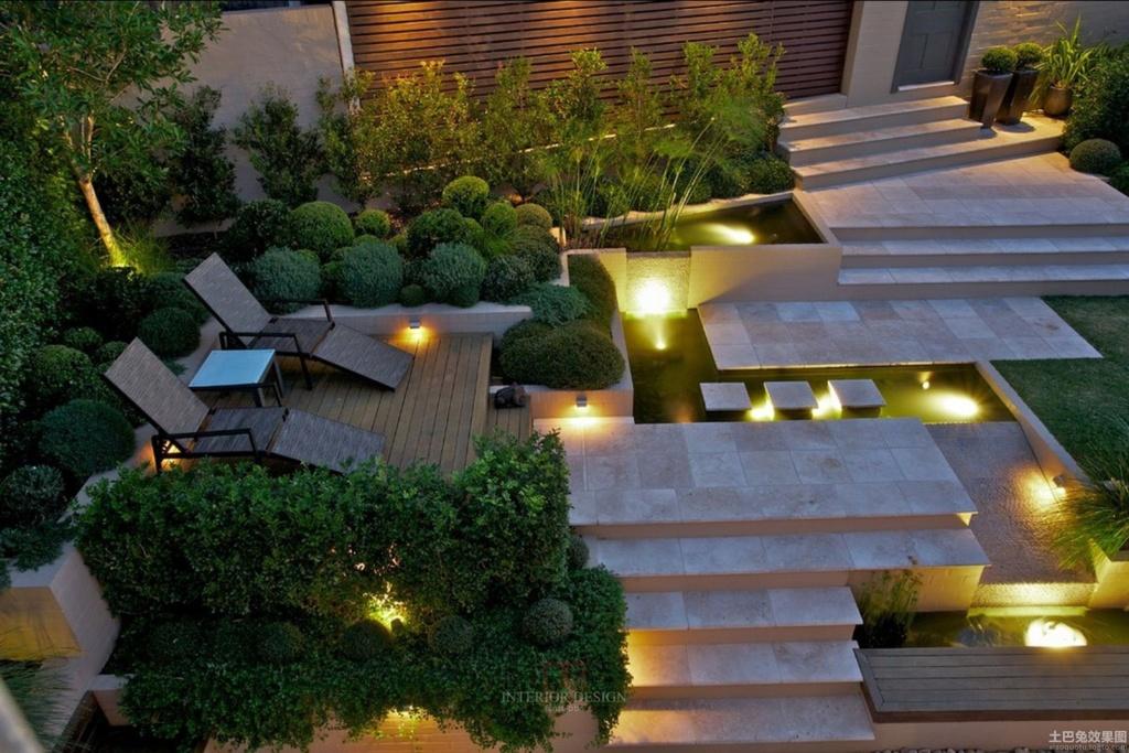 Moderne Gartengestaltung Bescheiden On Modern Auf Gestaltung Galerie Mit 7