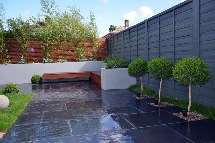 Moderne Gartengestaltung Einfach On Modern In Bezug Auf Minimalistische Linien Formen 5
