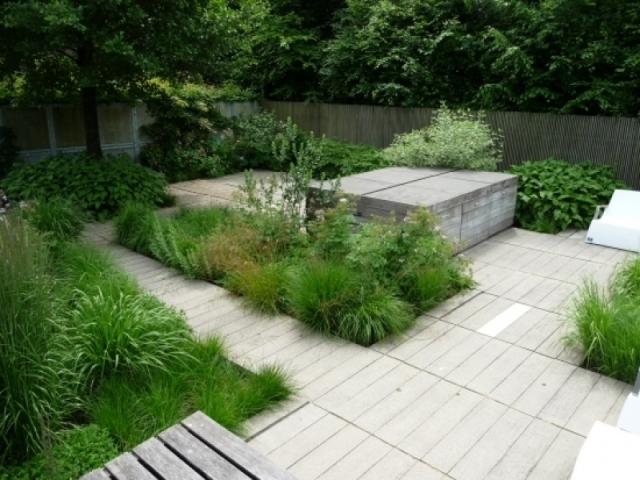Moderne Gartengestaltung Mit Gräsern Charmant On Modern Für Moderner Garten Grasern 8