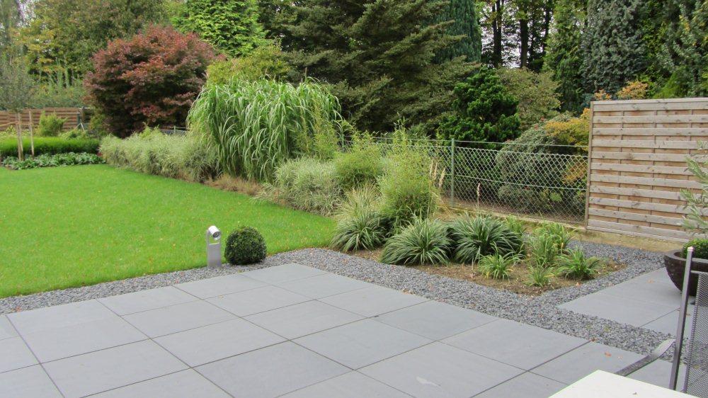 Moderne Gartengestaltung Mit Gräsern Perfekt On Modern Gräser Garten Nach Der Fertigstellung 5