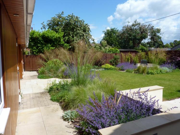 Moderne Gartengestaltung Mit Gräsern Perfekt On Modern In 9 Ideen Für Das Gartendesign Auf Dem Laufenden Bleiben 6