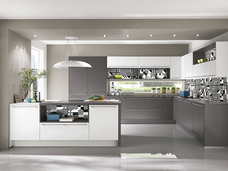 Moderne Küche Mit Insel