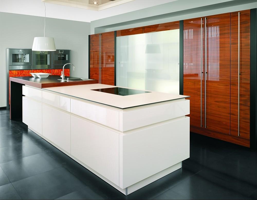 Moderne Küche Mit Insel Großartig On Modern Auf In U Form Geplant 6