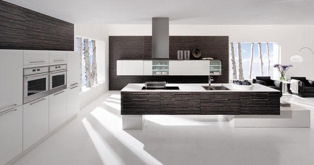 Moderne Küche Mit Kochinsel Erstaunlich On Modern Innerhalb Laminat VERSO ZINGANA Rational 4
