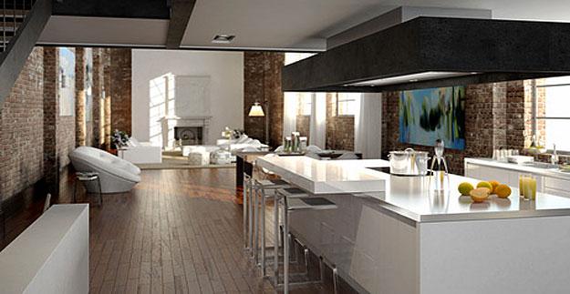 Moderne Küche Mit Kochinsel Und Theke Erstaunlich On Modern In Jpg 8