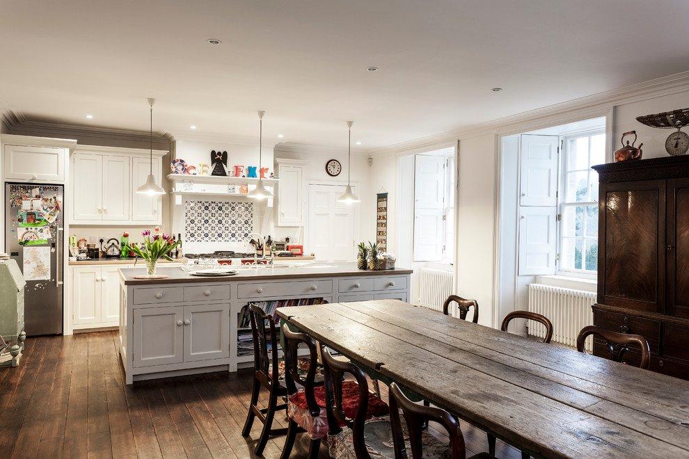 Moderne Landhausküche Mit Kochinsel Beeindruckend On Modern überall Kochkor Info 5
