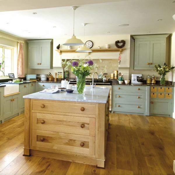 Moderne Landhausküche Mit Kochinsel Bemerkenswert On Modern Beabsichtigt Landhausküchen Google Suche Küchen 4