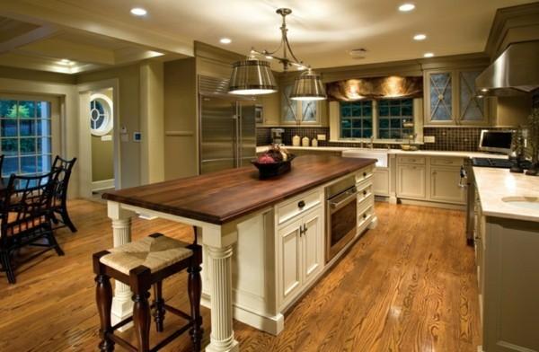 Moderne Landhausküche Mit Kochinsel Charmant On Modern Auf 90 Küchen Ausgestattet 8