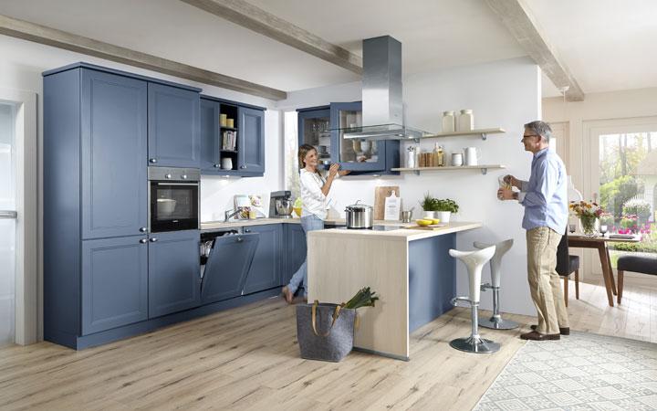 Moderne Landhausküchen Blau Beeindruckend On Modern In Erwachen 4