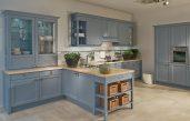 Moderne Landhausküchen Blau
