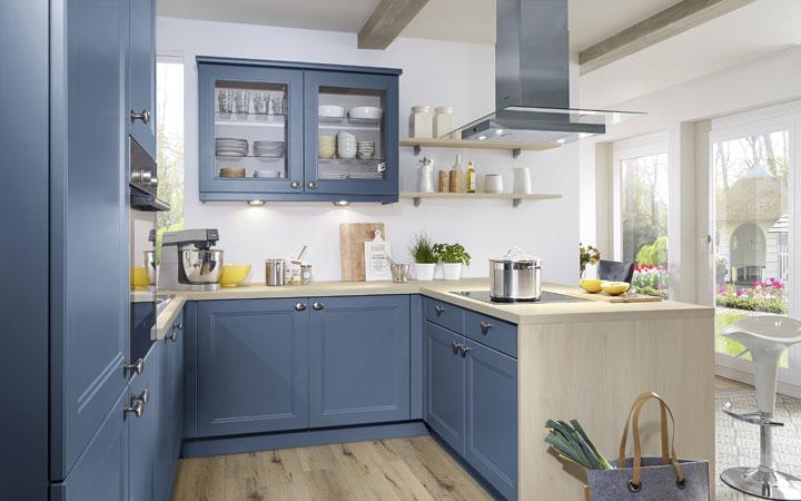 Moderne Landhausküchen Blau Einfach On Modern In Bezug Auf Küchen Brügge 8