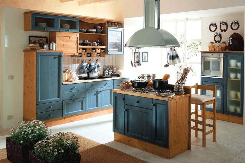 Moderne Landhausküchen Blau Großartig On Modern In Bezug Auf Landhauskuchen Www Sieuthigoi Com 2