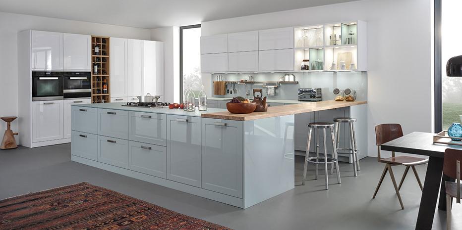 Moderne Landhausküchen Blau Herrlich On Modern Mit Cabiralan Com 1