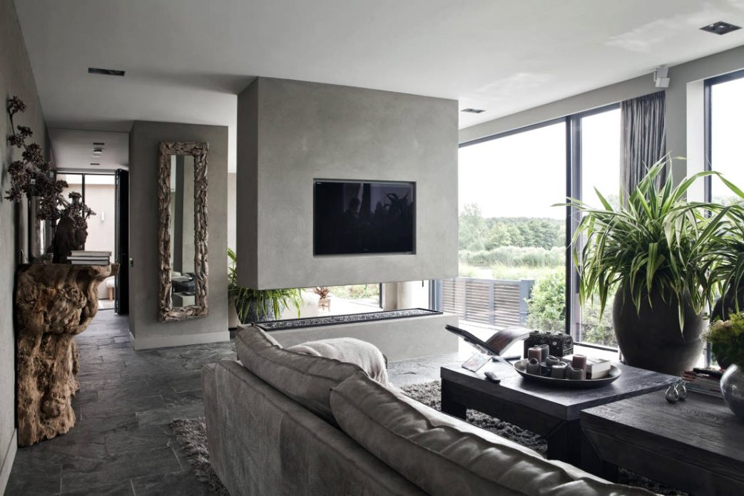 Moderne Luxus Kamine Bescheiden On Modern Und Wohnzimmer Mit Kamin Deko Dekoideen Exotische Stile 5
