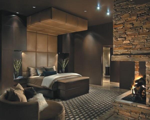 Moderne Luxus Schlafzimmer Charmant On Modern überall Farben Braun Vermittelt 5