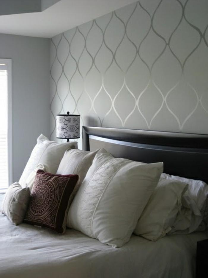 Moderne Tapete Schlafzimmer Großartig On Modern Innerhalb Tapeten Für Gemütlich Auf Coole 8
