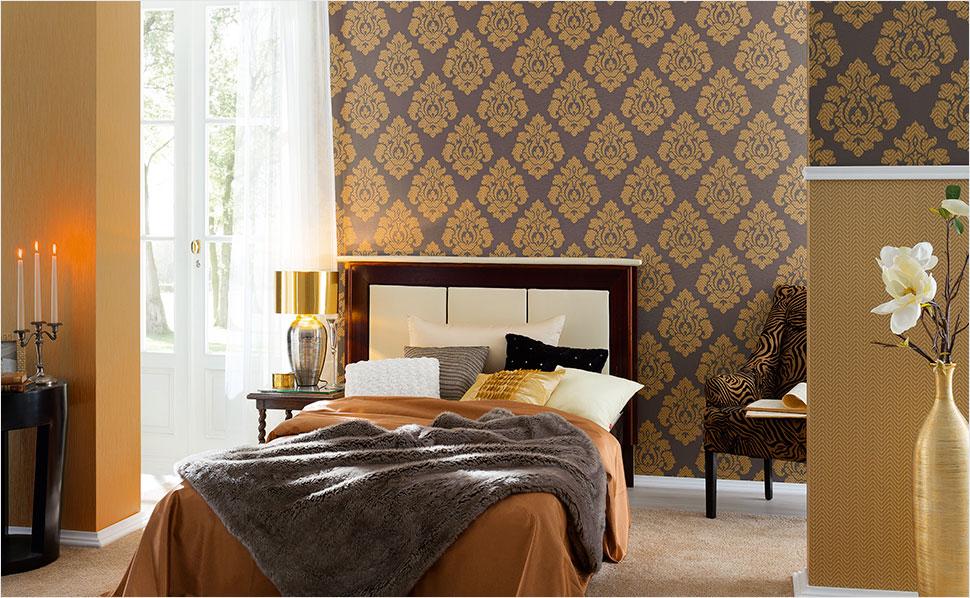 Moderne Tapeten Schlafzimmer Einfach On Modern Beabsichtigt Formatzweck Tapete Fürs 4