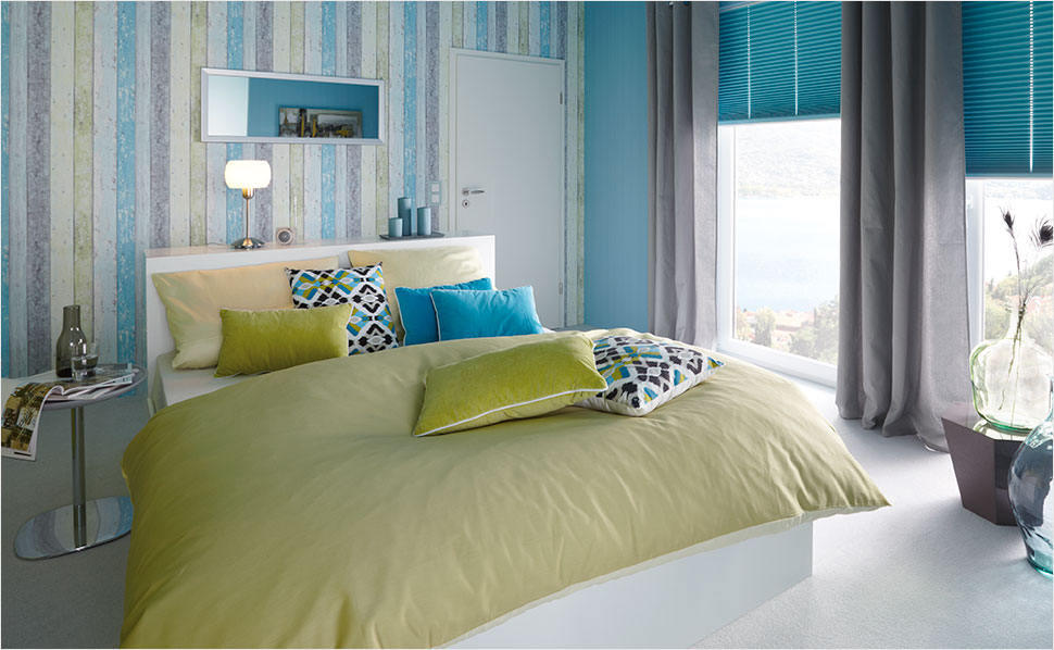 Moderne Tapeten Schlafzimmer Imposing On Modern Beabsichtigt Fürs Bei HORNBACH 7