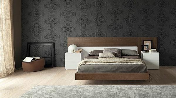 Moderne Tapeten Schlafzimmer Schön On Modern überall Home Design Ideas 6