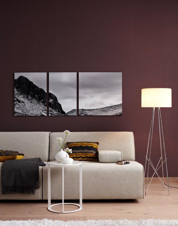 Moderne Wandfarben Imposing On Modern In Schön Wandfarbe Inspiration Dunkelbraun Für Kuschelzone 7