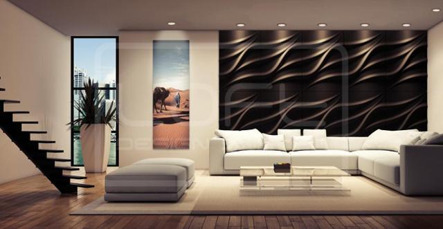 Moderne Wandgestaltung Interessant On Modern In Bilder Ideen COUCHstyle 2