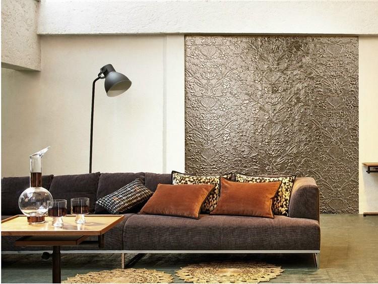 Moderne Wandgestaltung Kreativ On Modern In Bezug Auf 29 Kreative Wohnideen Für 1