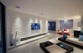 Moderne Wohnstube