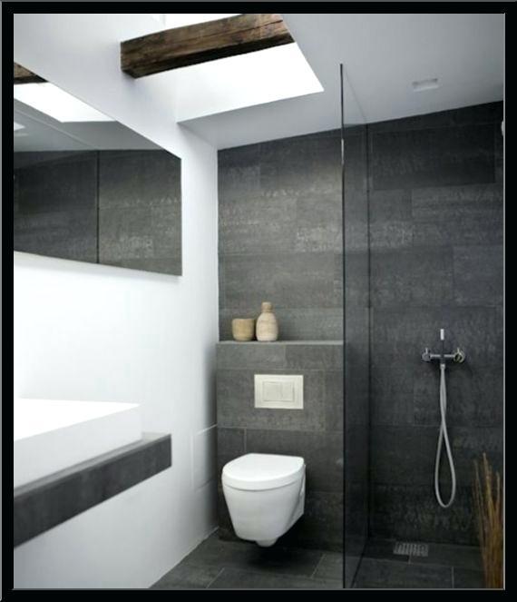 Modernes Badezimmer Grau Charmant On Beabsichtigt 5