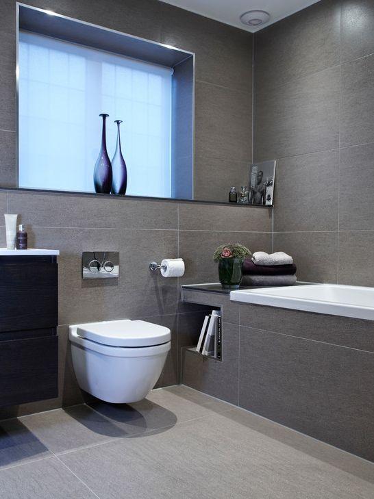 Modernes Badezimmer Grau Charmant On überall Design 8