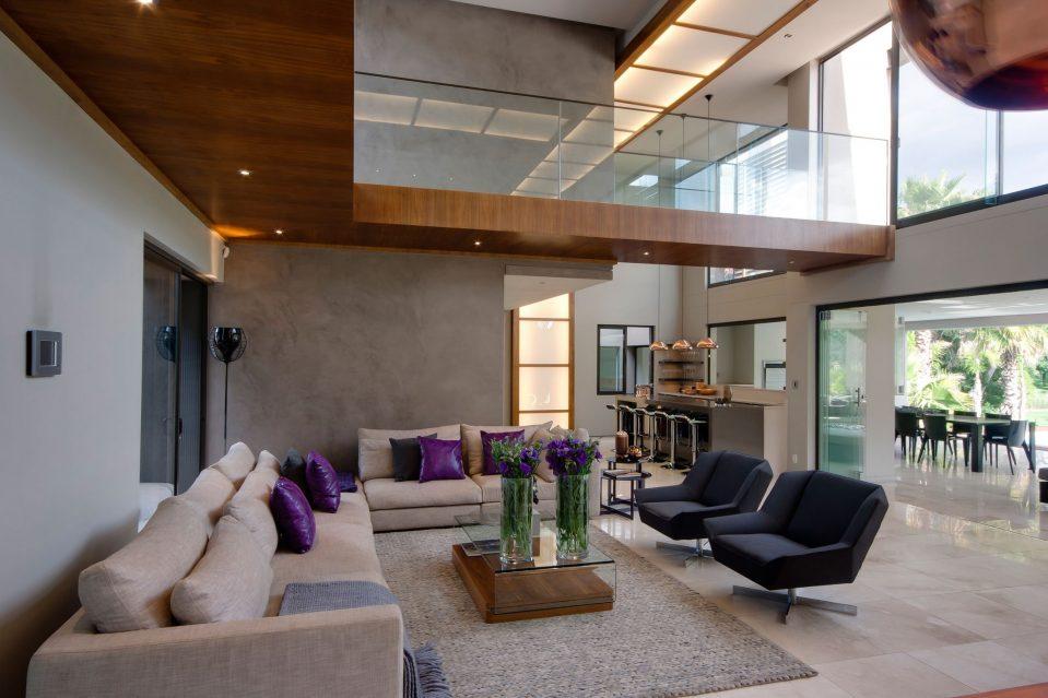 Modernes Wohnzimmer Am Abend Erstaunlich On Modern In Uncategorized Ehrfürchtiges Und 8