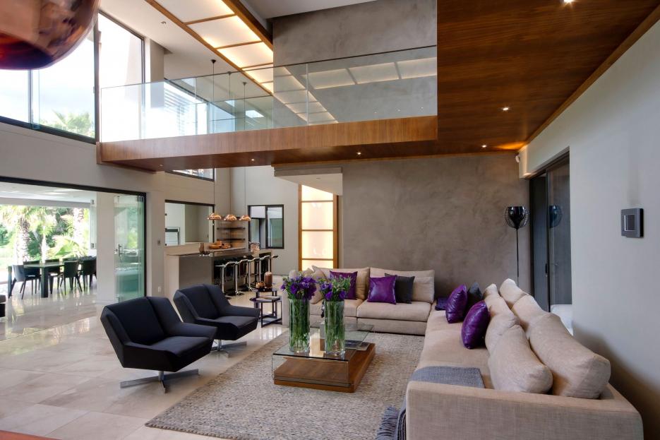 Modernes Wohnzimmer Am Abend Fein On Modern Beabsichtigt Wohndesign 2017 Cool Attraktive Dekoration Wohnzimmerwand Ideen 7