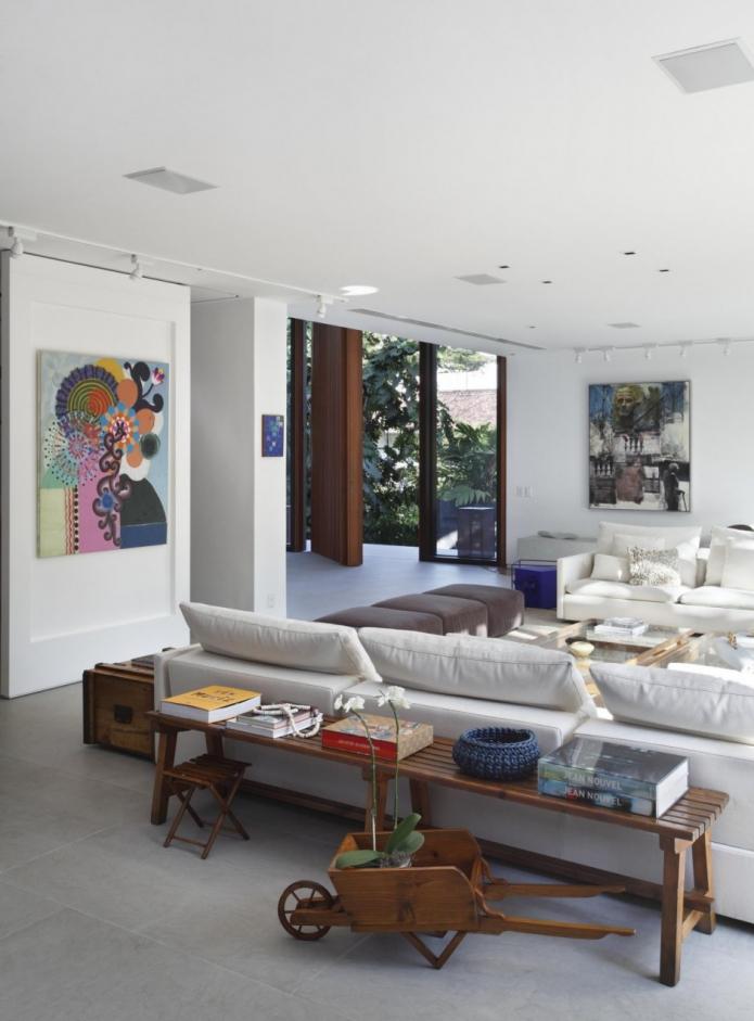 Modernes Wohnzimmer Am Abend Kreativ On Modern Beabsichtigt Uncategorized Zimmer Renovierung Und Dekoration 5