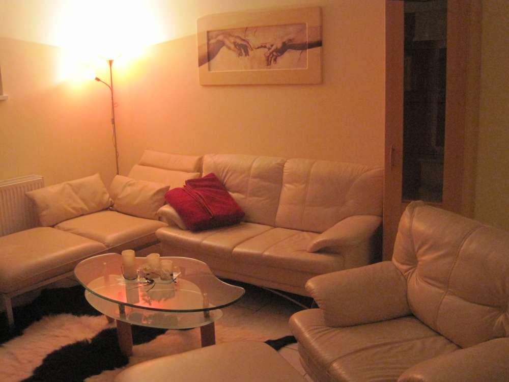 Modernes Wohnzimmer Am Abend Kreativ On Modern Für Cabiralan Com 2