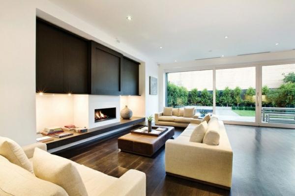 Modernes Wohnzimmer Beige Einfach On Auf 20 Ideen Für Moderne Einrichtung In Neutralen Farben 4