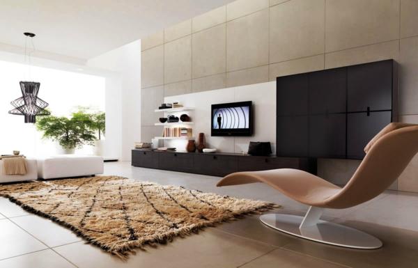Modernes Wohnzimmer Beige Herrlich On Mit Super Elegante Als Vorbilder Moderner Einrichtung 7