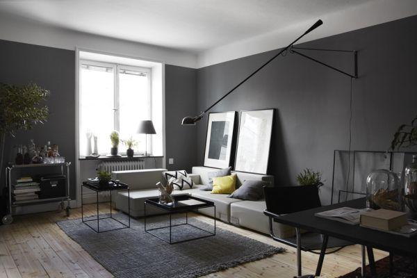 Modernes Wohnzimmer Grau Interessant On Modern Beabsichtigt Govconip Com 5
