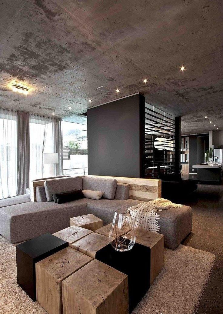 Modernes Wohnzimmer Grau Nett On Modern In Die Besten 25 Graue Ideen Auf Pinterest 7
