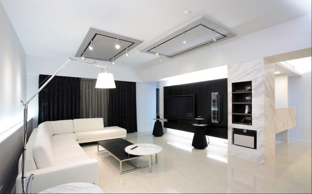 Modernes Wohnzimmer Schwarz Kreativ On Modern In Bezug Auf Beautiful Gallery House Design Ideas 5
