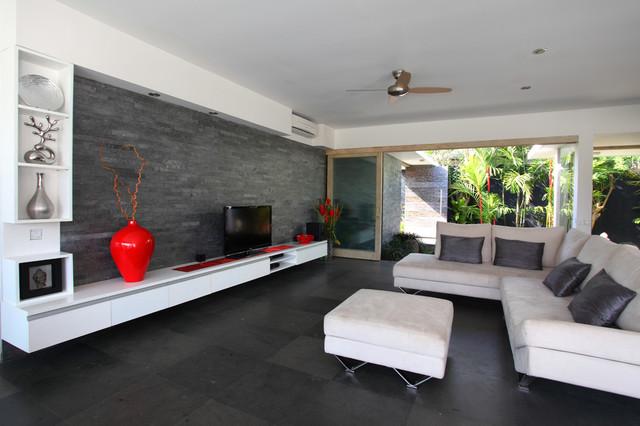 Modernes Wohnzimmer Schwarz Weiß Laminat Nett On Modern Und Weiss Www Sieuthigoi Com 1