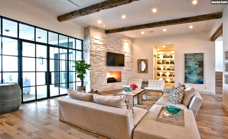 Modernes Wohnzimmer Schwarz Weiß Laminat Zeitgenössisch On Modern Und Home Dekor Beeiconic Com 5