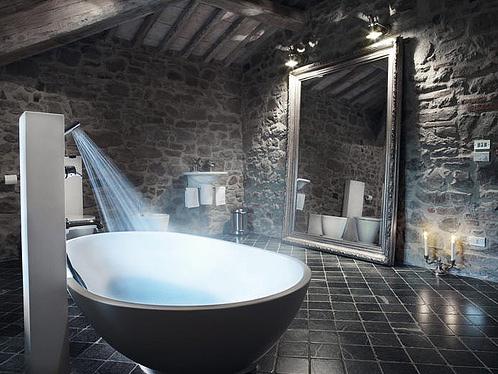 Natursteinwand Badezimmer Fein On In Mit 2 FresHouse 9