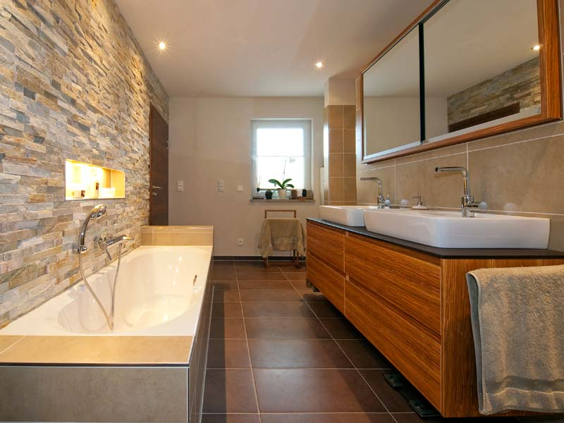 Natursteinwand Badezimmer Perfekt On überall Govconip Com 5