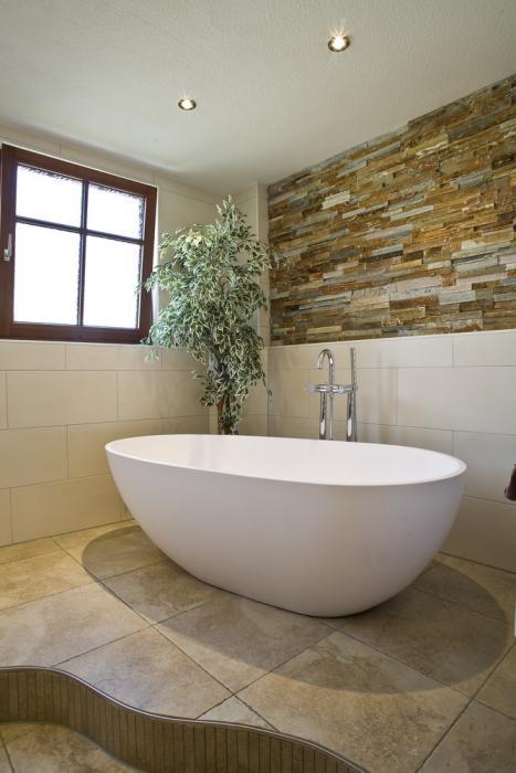 Natursteinwand Badezimmer Unglaublich On Für Mit Markus Baur Fliesen Und Natursteine 1